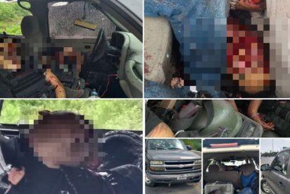 Fotos (Imágenes fuertes): El sangriento final de cinco sicarios en México