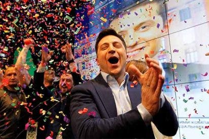 Vladímir Zelenski, el comediante que hacía de presidente en una serie de TV y ahora es presidente de Ucrania