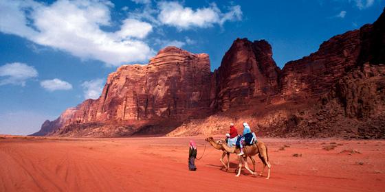 Desierto de Wadi Rum: Marte en La Tierra