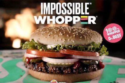 Burger King lanza esta super Whopper vegano con sabor a ternera y creado en un laboratorio