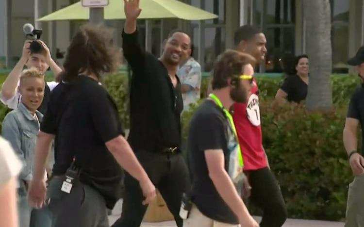 """Will Smith paraliza Miami Beach para filmar """"Dos policías rebeldes 3"""""""