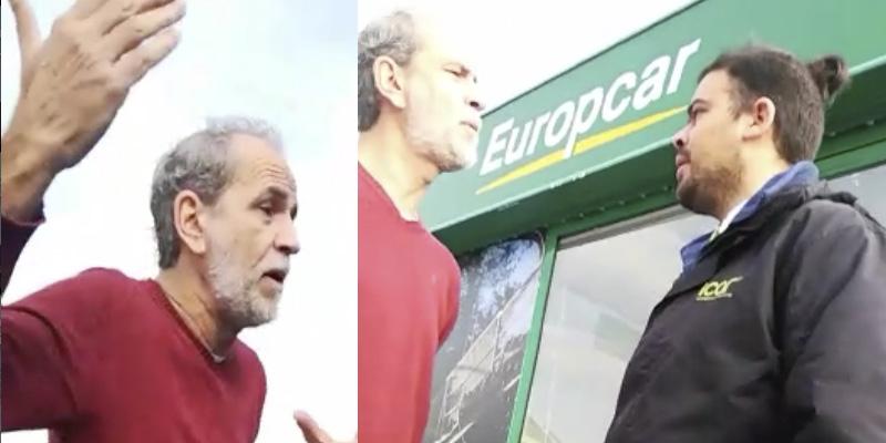 """El camarero del 15M denunciará al """"macarra"""" Willy Toledo por amenazarle con """"reventarle la cabeza"""""""
