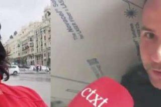VOX: El obrero propina una picante colección de zascas al reportero progre