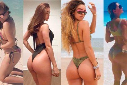 """La retaguardia del éxito: Así celebró """"La chica más sexy clima"""" sus 10 millones de seguidores en Instagram"""
