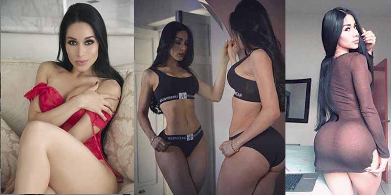 La sexy Yuliett Torres se baja el shortcito para promocionar un refresco