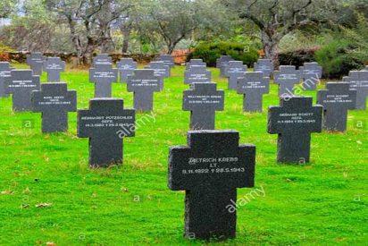 La Guardia Civil investiga la profanación del único cementerio militar alemán en España