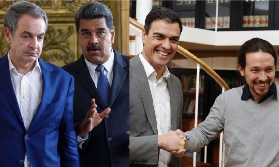 """Miedo en las redes por un Gobierno de Sánchez 'a la venezolana' y con socios """"chavistas"""""""