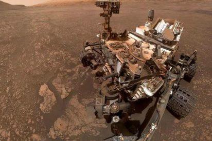 El robot Rover Curiosity encuentra una curiosidad en Marte