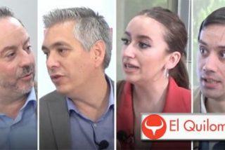 """El Quilombo / """"La jauría podemita no es ni capaz de respetar a una embarazada de 9 meses"""""""