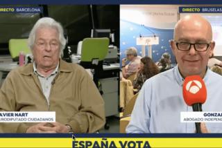 Lección de palos de Javier Nart a Gonzalo Boye para recibir al 'no-eurodiputado' Carles Puigdemont
