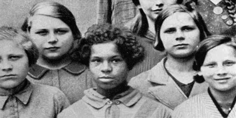 Alemania nazi: Esta foto fue usada en conferencias sobre genética de la Academia Alemana para la Raza y la Salud en 1936.