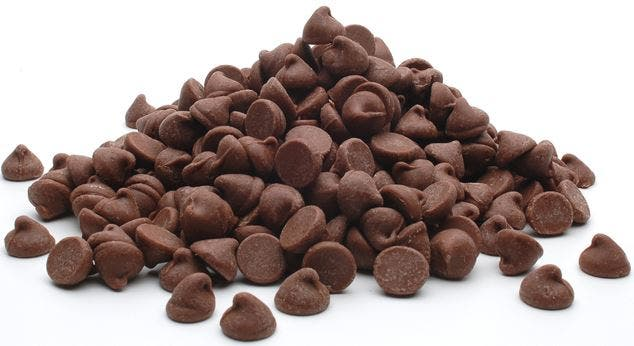 chips o chispas de chocolate