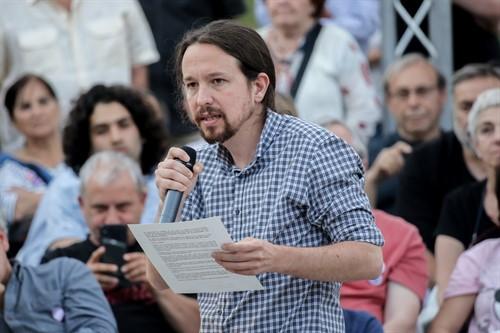 """Iglesias pide que la gente vote """"con toda libertad y en conciencia"""" en un """"momento histórico"""" que vive España"""