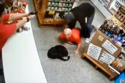 La dueña de la tienda mata de un balazo al atracador