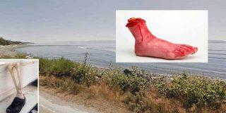 El misterio de los pies de muertos que llegan a la costa de Canadá
