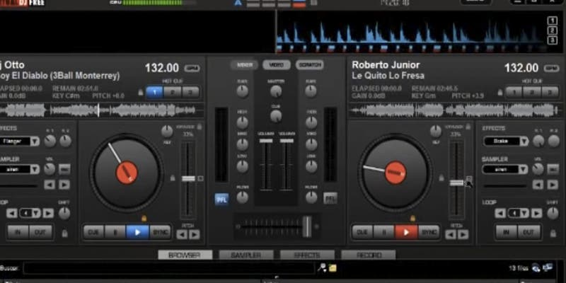 DJs: Con este sencillo tutorial aprenderás a mezclar fácilmente con Virtual Dj
