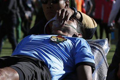 Muere este árbitro en Bolivia tras sufrir un infarto en pleno partido