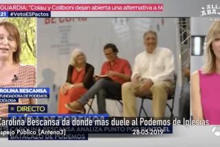 Bescansa se ríe en la cara de Pablo Iglesias