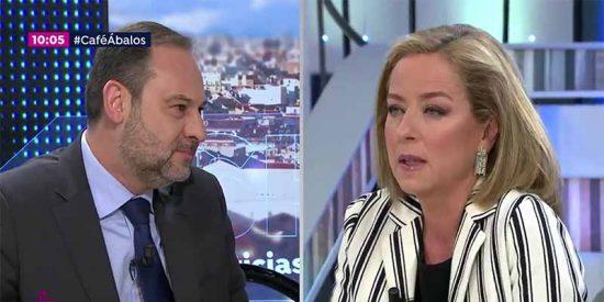 Ana Oramas sacude un palo al socialista Abalos en directo, a cuenta de los apaños del PSOE con Podemos