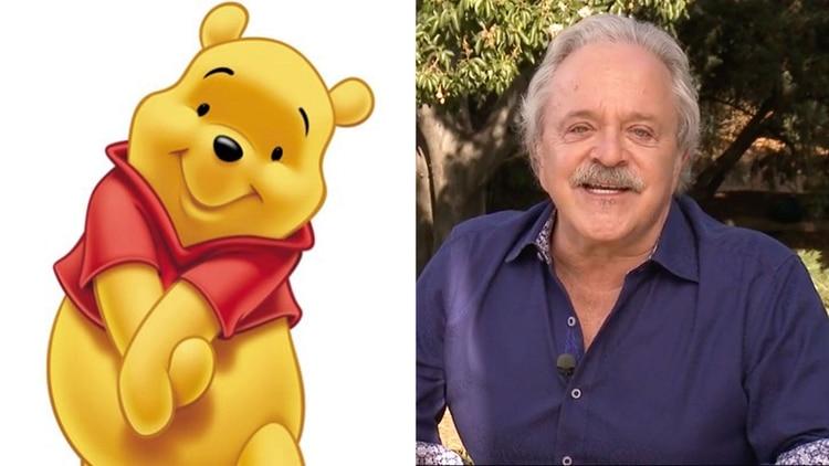 El actor detrás de la voz de Winnie Pooh abusa de su esposa frente de su hija