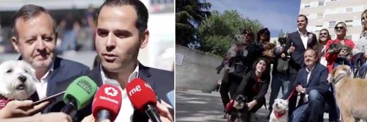 Ignacio Aguado se 'pasa' al PACMA y trae una animalista medida para la sanidad pública con la que le han pintado la cara