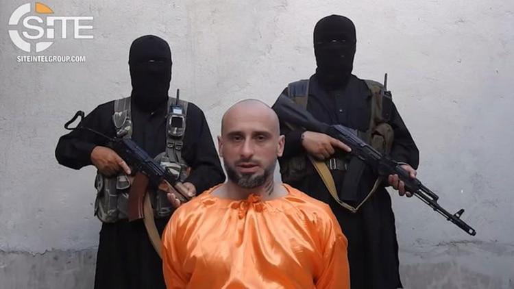 ISIS libera al rehén italiano que permaneció secuestrado casi tres años
