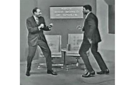 El juego de piernas de Muhammad Ali que revoluciona las redes