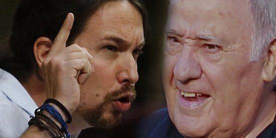 Pablo Iglesias dice que Amancio Ortega se meta sus 'limosnas' por donde le quepan