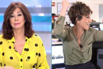 Ana Rosa Quintana se chiva del truco secreto de Sonsoles Ónega y arde Telecinco
