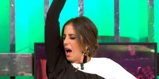 Anabel Pantoja parece tener un 'orgasmo' mientras imita a su tía Isabel