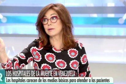Ana Rosa Quintana pone en su sitio, en vivo y en directo, a algún tuercebotas de la dirección de Telecinco