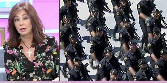 La razón de mucho peso por la que Ana Rosa lleva una pulsera de la Guardia Civil
