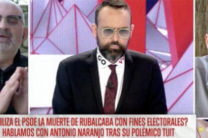 Antón Losada se olvida de su lado friki, muy escocido cuando escucha que Sánchez ha usado a Rubalcaba electoralmente