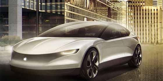 La patente secreta del coche autónomo de Apple que hundirá a Tesla como a Blackberry con los móviles