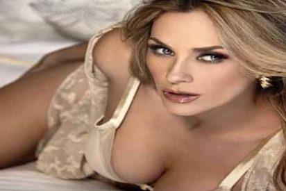 Aracely Arámbula baila en una sexy transparencia que muestra toda su ropa interior