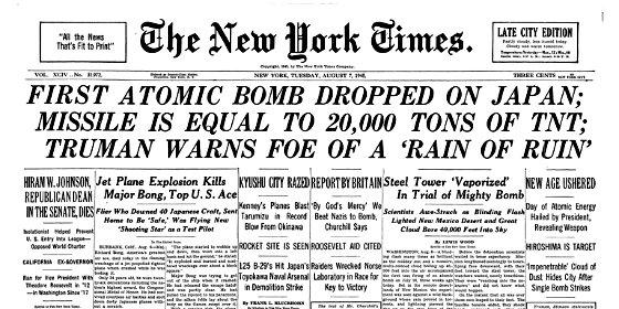 Se cumplen 74 años de la Bomba de Hiroshima: el día que se cayó el sol y las pieles se desprendieron como cáscaras de mandarinas