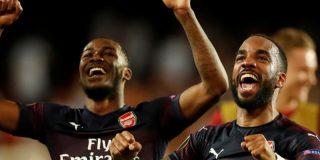 El Arsenal derrota al Valencia por 2-4 y pasa a la final de la Liga Europa
