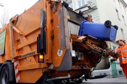 Pillan a este basurero cuando finge ser atropellado para demandar una compensación al conductor