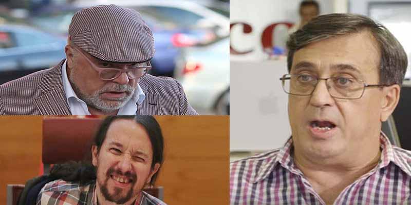 El comisario Villarejo grabó al ex director de 'Público' confesando detalles de la financiación chavista de Podemos