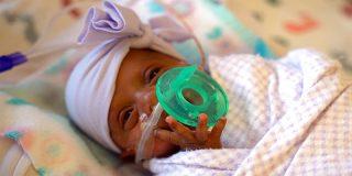¿Sabes cuánto pesa el bebé más pequeño del mundo?