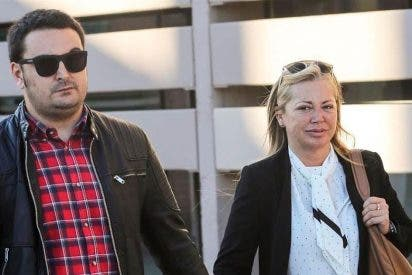 Belén Esteban presenta en el juzgado nuevas pruebas contra Toño Sanchís