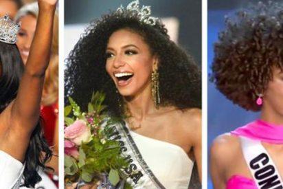 La belleza negra logra el triplete en un certamen en EE.UU.