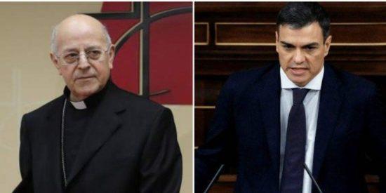 El socialista Sánchez prentende cambiar los Acuerdos Iglesia-Estado