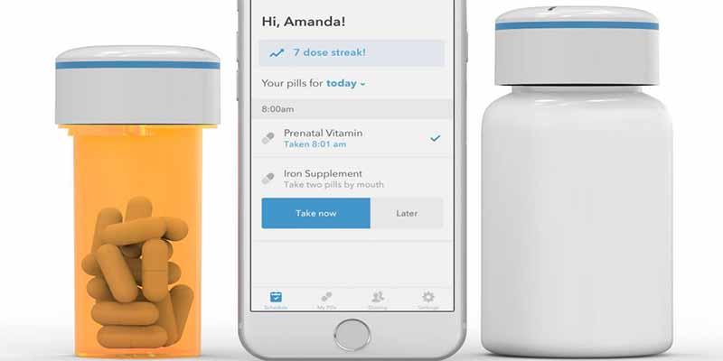 Un bote de pastillas 'inteligente' que te envía alertas por Bluetooth para evitar una sobredosis