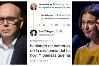 Puigdemont mete en su lista a las europeas a dos que se odian a muerte: la 'tragabulos' Talegón y el exterrorista Boye