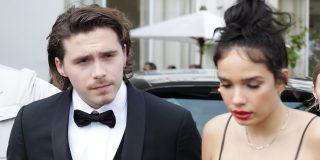 Escandalosa pelea del hijo de David Beckham con su novia en Cannes