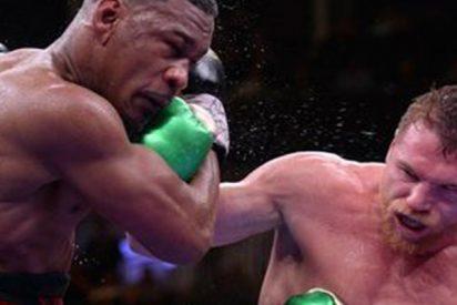 El mexicano 'Canelo' Álvarez vence a Daniel Jacobs y se queda con los tres títulos de peso mediano