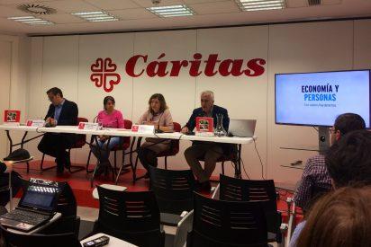 Cáritas denuncia que más de dos millones de trabajadores viven en situación de exclusión por precariedad laboral