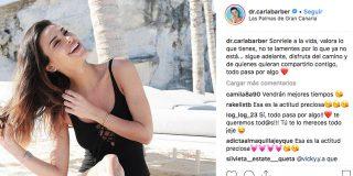 La doctora Carla Barber le lanza una pulla a su exmarido en su última foto de Instagram