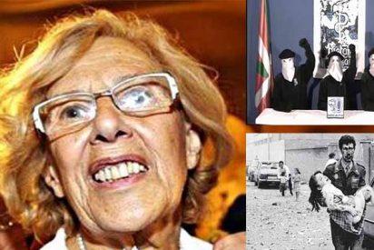 """La 'abuelita' Carmena criticó que Policía y Guardia Civil se """"empecinarán"""" contra ETA tras el asesinato de Miguel Ángel Blanco"""